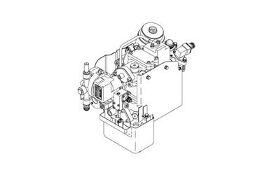 PUMP AND METERING VALVE ASSY,ADJUSTED