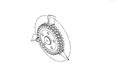 WHEEL ASSY,POWER TURBINE |PN: 0319417950