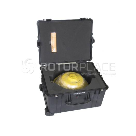 Epicyclic reduction gear case for H125